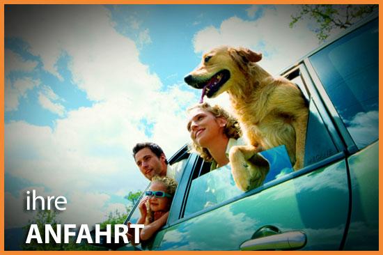 Dog Lodge Hundehotel - Anfahrt