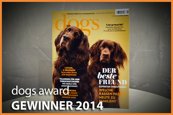 DOG LODGE Hundehotel – Award-Gewinner 2014